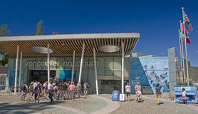 VANCOUVER, CANADA - AUGUST 24, 2016: The entrance to the Aquariu. M on 24 August 2016 in Vancouver, Canada. Vancouver Aquarium is the best of its kind in Canada stock photos