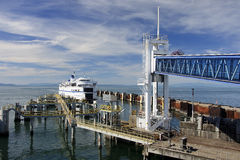 VANCOUVER, CANADA - AUGUST 26, 2016: Ferry terminal in Vancouver Royalty Free Stock Photography