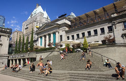 VANCOUVER, CANADA - AUGUST 27, 2016: Vancouver Art Gallery on 27 Stock Photos