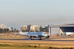 Vancouver, Canada - Circa 2018: Air Canada Boeing 787 bij YVR Ai Royalty-vrije Stock Foto's