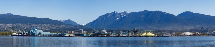 Vancouver, Canada - Circa 2018 : North Shore Industries Royalty Free Stock Image