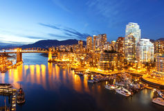 Vancouver in Canada Royalty Free Stock Photos