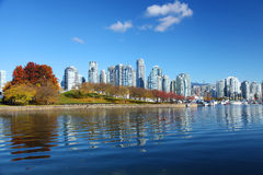 Vancouver in Canada Stock Image