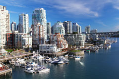 Vancouver in Canada royalty free stock photo