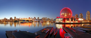 Vancouver in Canada Stock Photography