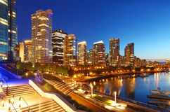 Vancouver in Canada Stock Photo