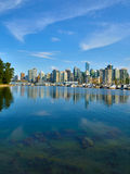 Vancouver Canada cityscape. With towers, sky and water Stock Photos
