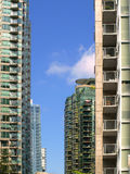 Vancouver Canada cityscape. With towers and sky Royalty Free Stock Photography