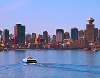 Vancouver Canada cityscape. From North Vancouver Stock Photos
