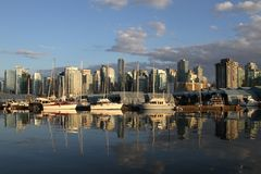 Vancouver Canada cityscape Stock Photography