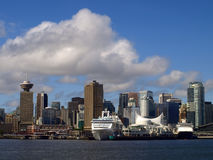 Vancouver Canada cityscape Royalty Free Stock Image