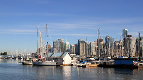 Vancouver Canada cityscape Royalty Free Stock Photography