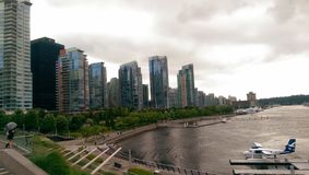 Vancouver Canada. Downtown city buildings cityscape Royalty Free Stock Photo