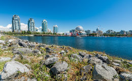 Vancouver, Canada - June 20, 2017: The world of science and olym Royalty Free Stock Photos