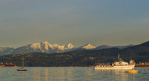 Vancouver, Canada - Maart 18, 2016 marina Royalty-vrije Stock Foto