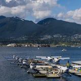 Vancouver, Canada - 8 maggio 2017: Terminale dell'idrovolante del centro di volo del porto di Vancouver l'8 maggio 2017 immagine stock