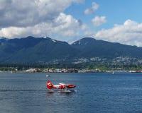 Vancouver, Canada - 8 mai 2017 : Terminal d'hydravion de centre de vol de port de Vancouver le 8 mai 2017 Images libres de droits