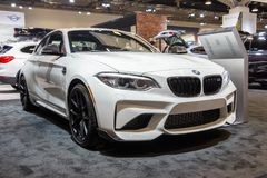 Vancouver, Canada - March 2018 : BMW M2 Coupe. Taken at 2018 Vancouver Auto Show Royalty Free Stock Photo