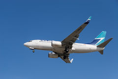 WestJet aircraft Stock Images