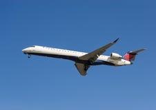 Avions de Delta Airlines   Images libres de droits