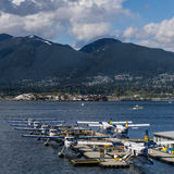 Vancouver, Canada - May 8 2017: Vancouver Harbour Flight Centre Seaplane Terminal on May 8, 2017 stock image