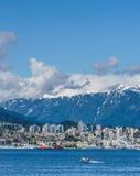 Vancouver, Canada - Mei 8 2017: Van de de Havenvlucht van Vancouver de Terminal van het het Centrumwatervliegtuig op 8 Mei, 2017 stock foto