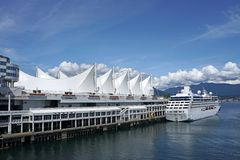Free Vancouver, Canada Place Stock Photography - 56856922