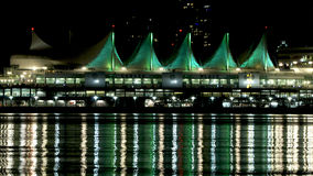 Vancouver Canada Place Sails Royalty Free Stock Photos
