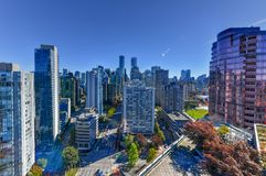 Vancouver, Canada Skyline royalty free stock photos