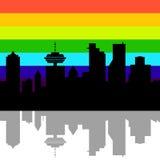 Vancouver Canada skyline Stock Photos