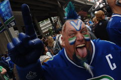 Vancouver Canucks Fan Stock Photos