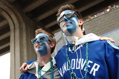 Vancouver Canucks Fan Stock Images