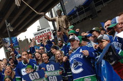 Vancouver Canucks Fans Royalty Free Stock Images