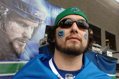 Vancouver Canucks Fans Stock Images