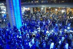 Vancouver Canucks hokejowi fan Obrazy Stock