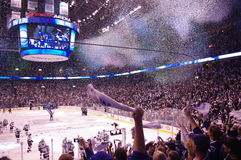 2011 Western Conference champions  Canucks  Stock Photos