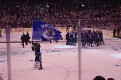 Vancouver Canucks 2011 Westelijke Conferentiekampioenen Stock Afbeelding