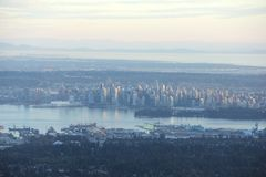 Vancouver City Stock Image
