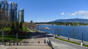 Vancouver city. City of vancouver, british columbia canada stock image