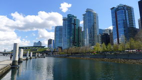 Vancouver city. City of vancouver, british columbia canada royalty free stock photography