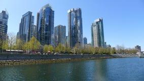 Vancouver city. City of vancouver, british columbia canada stock photo