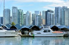 Vancouver City - Downtown - Canada royalty free stock photography
