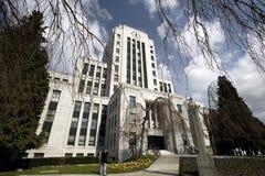 Vancouver City Hall Stock Photo