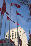 Vancouver City Hall Royalty Free Stock Photo