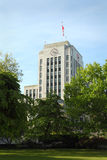 Vancouver City Hall, British Columbia vertical Royalty Free Stock Image