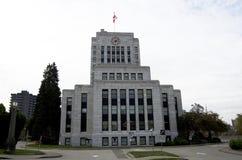 Vancouver city hall Stock Photos