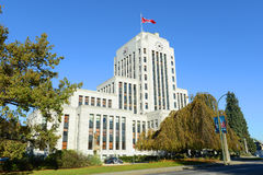 Vancouver City Hall, Vancouver, BC, Canada Royalty Free Stock Photos