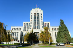 Vancouver City Hall, Vancouver, BC, Canada Stock Photo