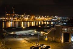 Vancouver City Port stock photo