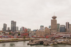 Vancouver city skyline Stock Photography